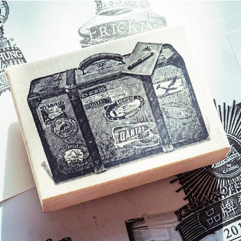 KEEP A NOTEBOOK 寫筆記 | Wooden Rubber Stamp 楓木印章 | CKN-031