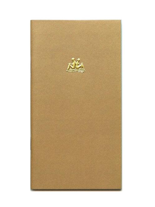KEEP A NOTEBOOK 寫筆記    Handy No.05 Plain 空白筆記(藤黃)  CKN-020E
