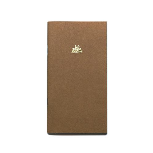 KEEP A NOTEBOOK 寫筆記 | A5 Slim No.05 Plain 空白筆記(黃土)| CKN-001E