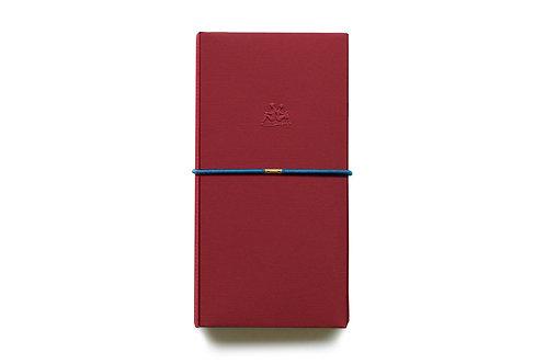 KEEP A NOTEBOOK 寫筆記 | Handy DIY Bookcover 多功能紙書衣(緋紅) | CKN-019D