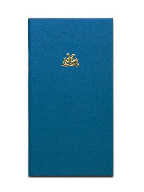 KEEP A NOTEBOOK 寫筆記 | Handy No.03 Ruled 橫罫筆記(淺蔥)| CKN-020C