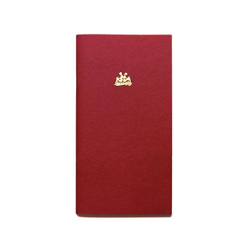 KEEP A NOTEBOOK 寫筆記 | A5 Slim  No.08 Project Notebook 專案筆記(赤銅)| CKN-001H
