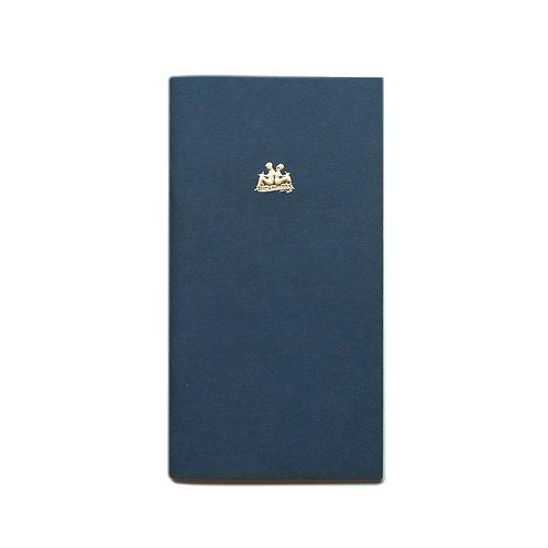 KEEP A NOTEBOOK 寫筆記 | A5 Slim No.02 Section 方眼筆記(藍)| CKN-001B