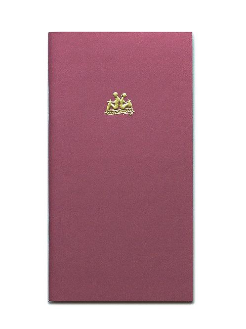 KEEP A NOTEBOOK 寫筆記 | Handy No.12 Cash Notebook 收支筆記(紅梅)| CKN-020K