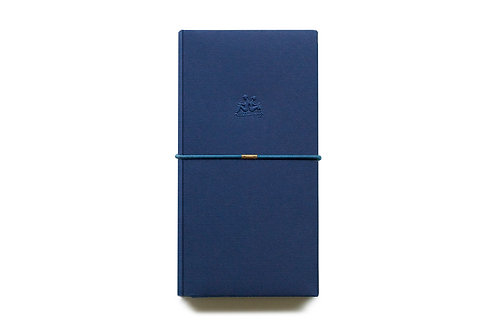 KEEP A NOTEBOOK 寫筆記 | Handy DIY Bookcover 多功能紙書衣(琉璃藍) | CKN-019C