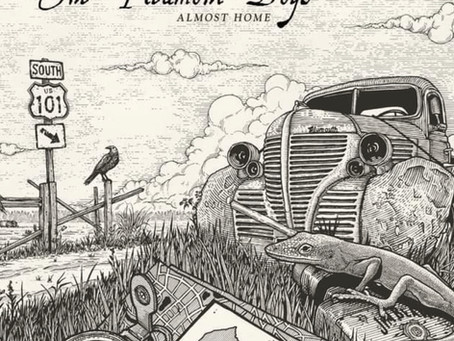 """Check out this review of our new album """"Almost Home"""" from SAVING COUNTRY MUSIC"""