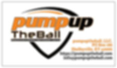 pumpuptheball LLC Business Card - Front.