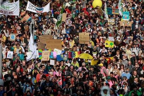 Protestas en Bélgica por cambio climático