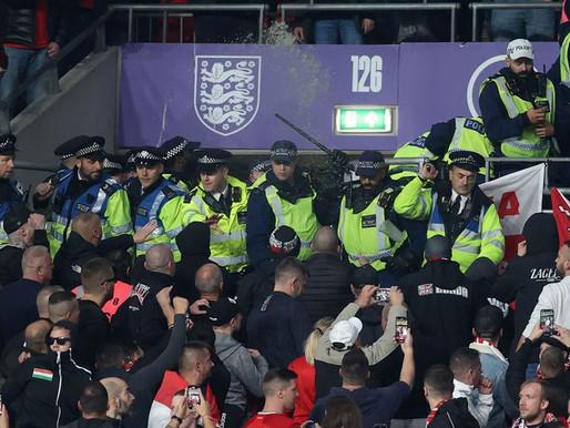 Investiga FIFA incidentes del Inglaterra-Hungría
