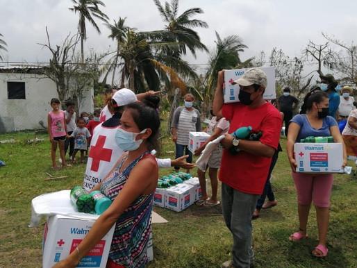 Fundación AlEn donó productos de Cloralex® y Pinol® en Veracruz y Jalisco tras paso de Grace y Nora