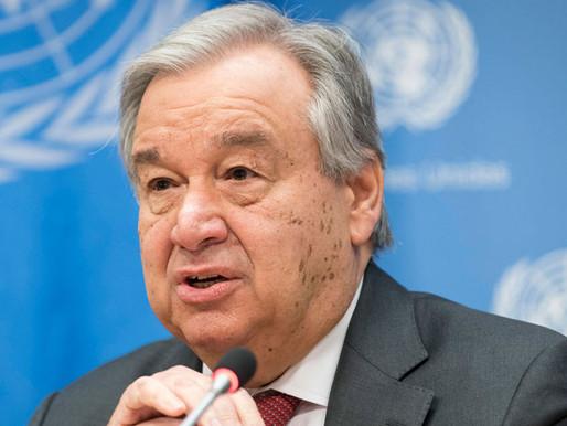 Advierte secretario de la ONU sobre resultados Conferencia sobre el Cambio Climático