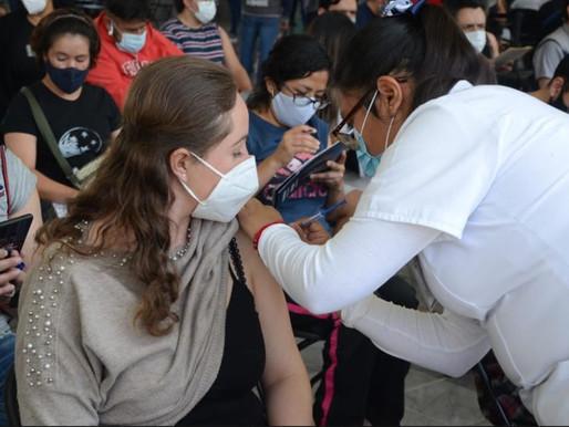 Lista, segunda dosis de vacuna contra Covid a personas de 18 a 29 años en 5 alcaldías
