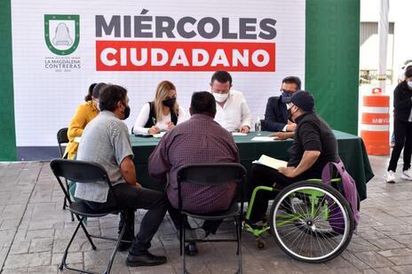 Da inicio en la Magdalena Contreras el programa Miércoles Ciudadano