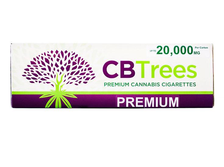 CBTrees Premium CBD Cigarettes – CARTON