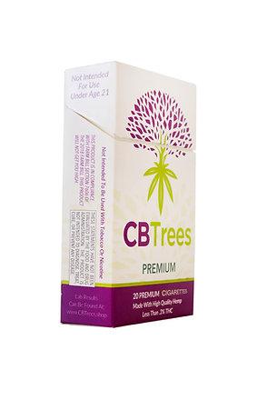 CBTrees Premium Hemp Cigarettes 2 pack Special.