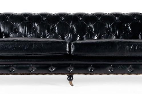 Chester Black Sofa