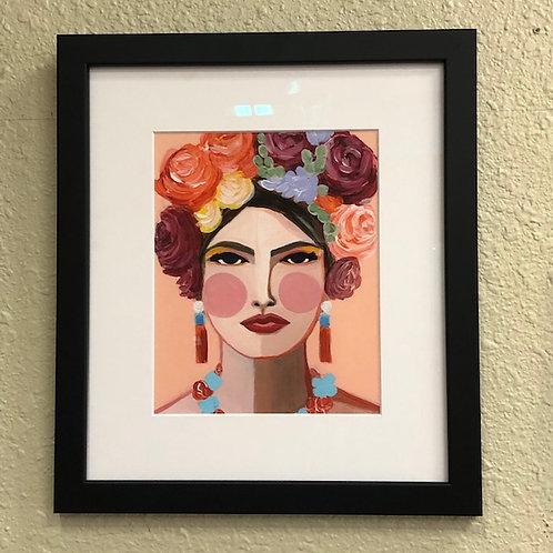 """""""Clara"""" Framed Print from an Original"""