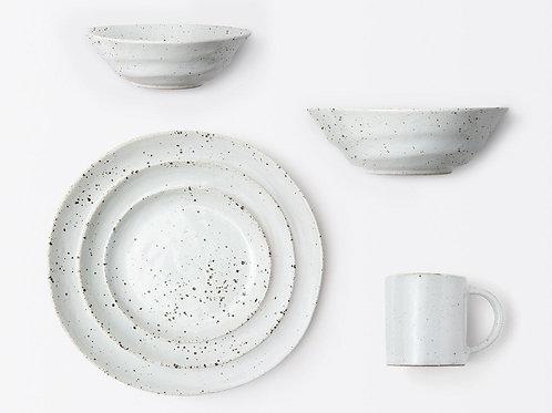 White Salt Glaze Mug