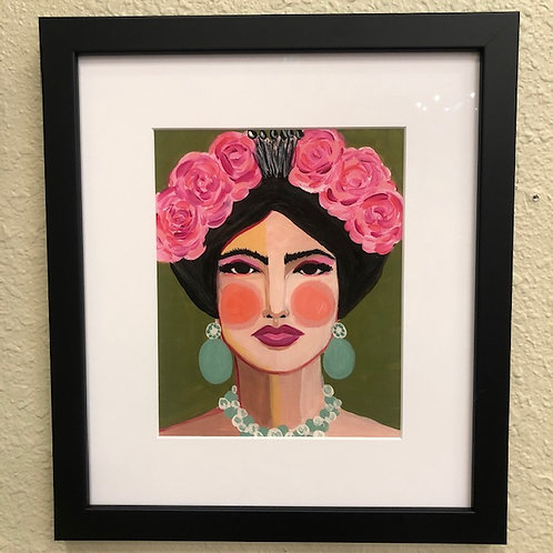 """Frida"" Framed Print from an Original"