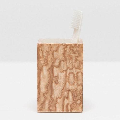 Tamo Ash Veneer Brush Holder
