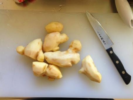 手作りジンジャエールの作り方♪生姜はちみつもできちゃいます♪