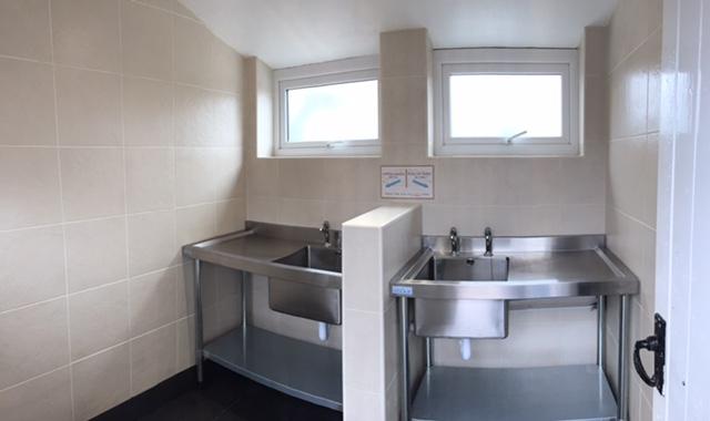 Dish Wash Room