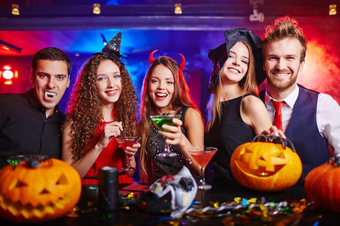 Incredible Wine Tasting & Marshmallow Roasting Halloween Party