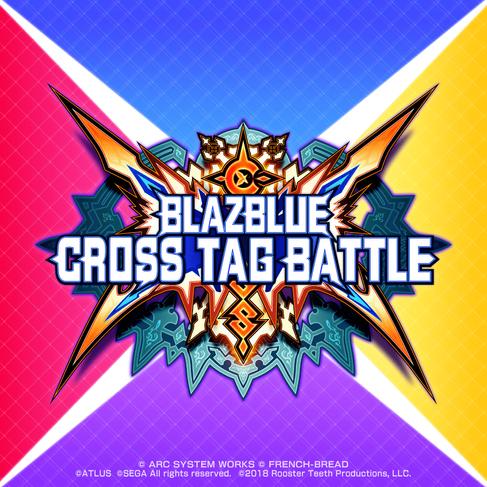 Blaze Blue Cross Tag