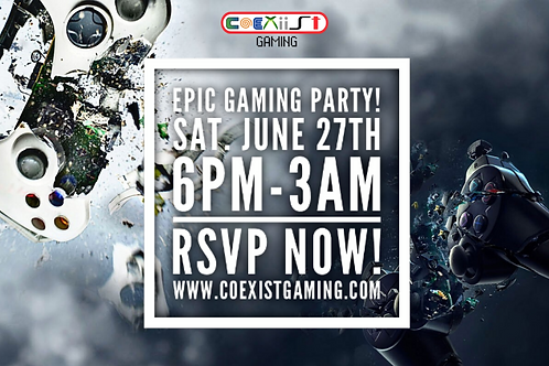 EPIC Coexist Game Party!