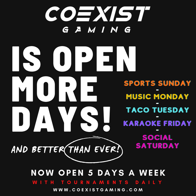 COEXIST open more days.png