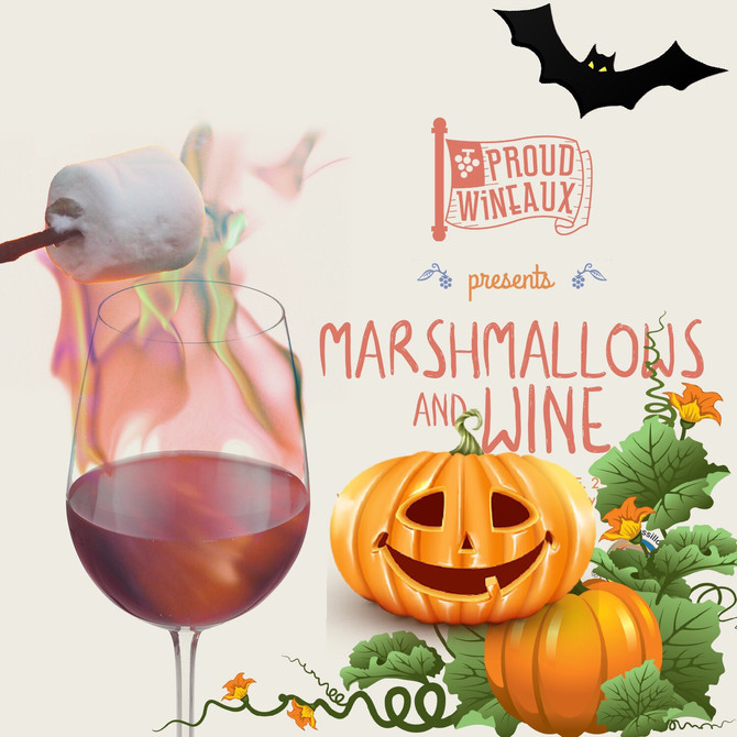 Marshmallow & Wine Costume Party!