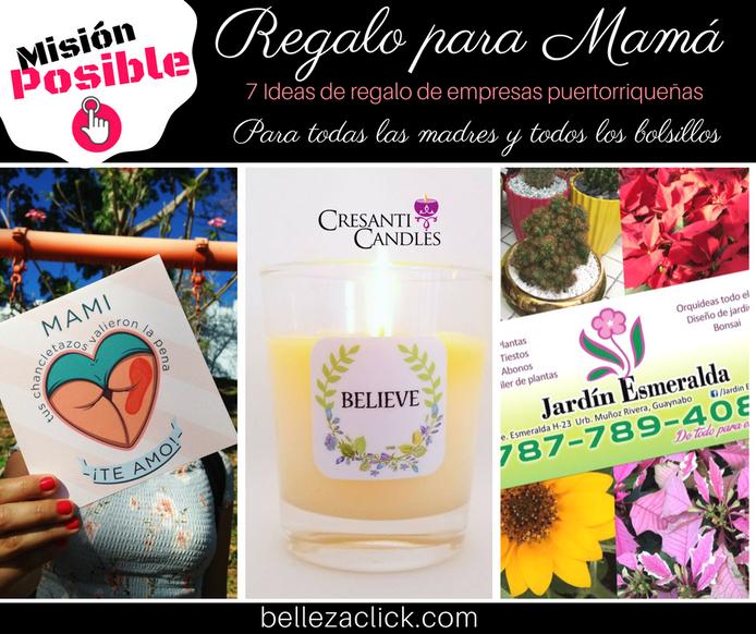 7 Ideas de regalo para Mamá de empresas locales