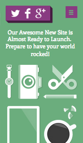 Landing Pages website templates – Em Breve - Novo Site