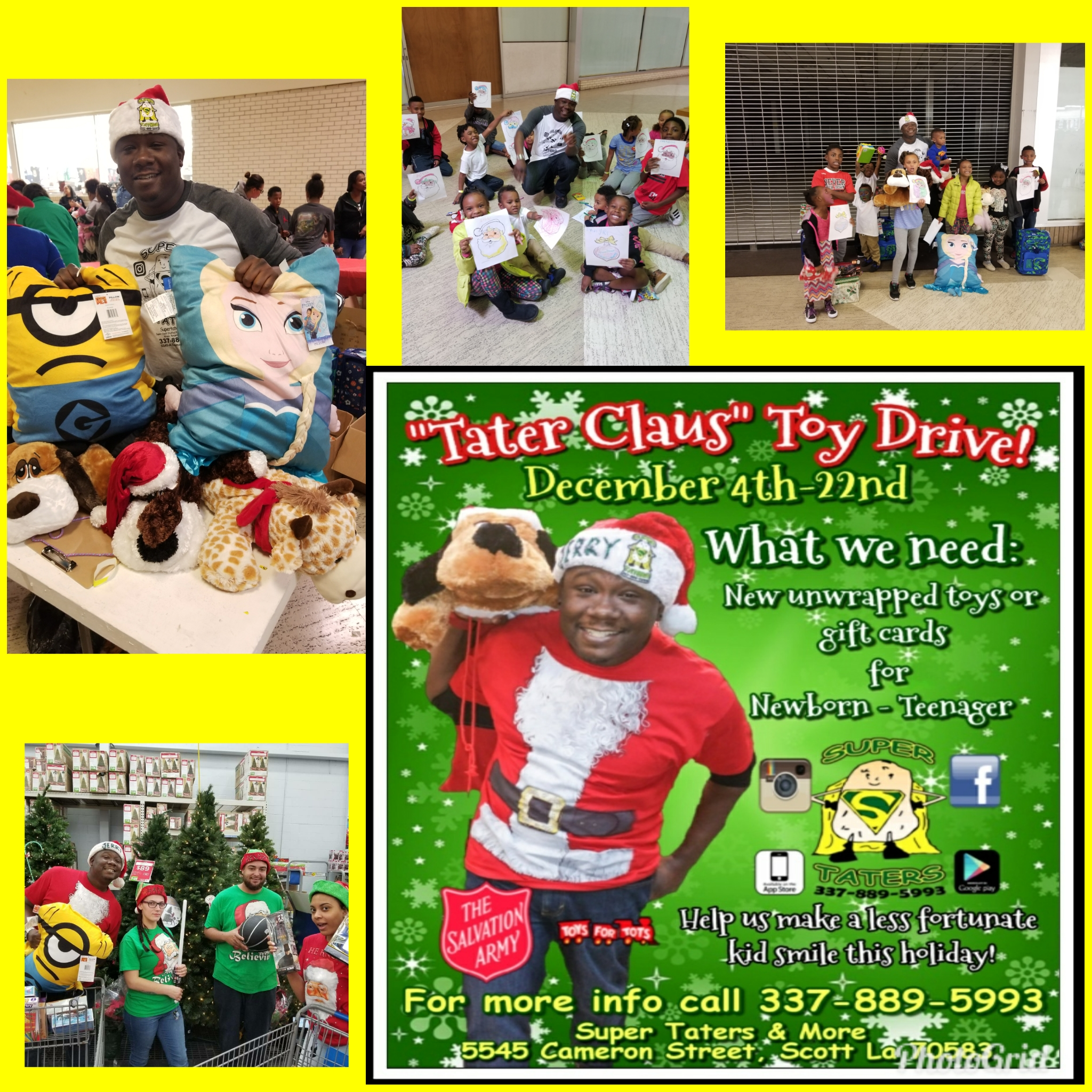 Tater Claus Toy Drive 17