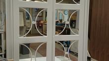 Bespoke wardrobe doors with fretwork