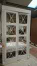 Bespoke wardrobe doors with fretwork