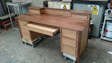 Bespoke Oak and Walnut desk
