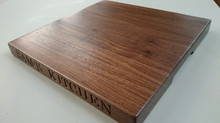 Personalised Walnut Chopping Board