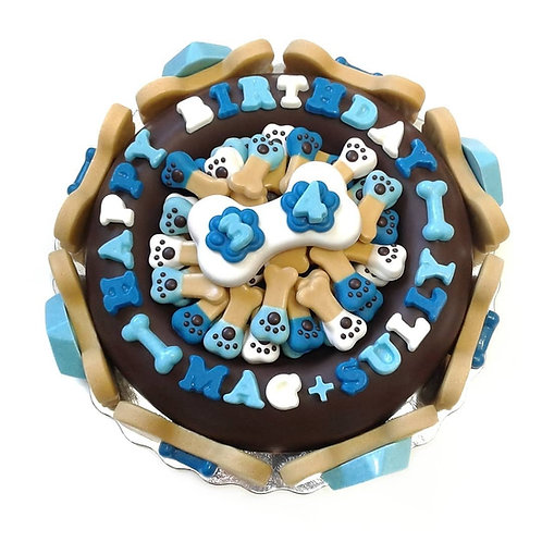 Luxe Dog Bowl Cake