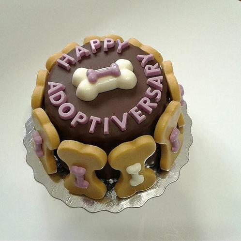 Grain Free Adoptiversary Cakes