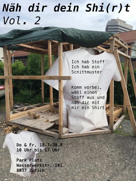Flyer Näh dir dein Shi(r)t Vol. 2