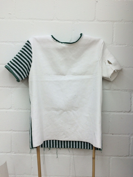 Shirt aus Molton und Badtuch