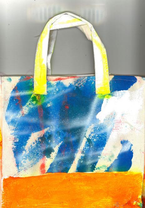 Malerei-Tasche zweite Seite