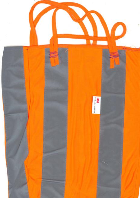 Orange Leuchtweste-Tasche