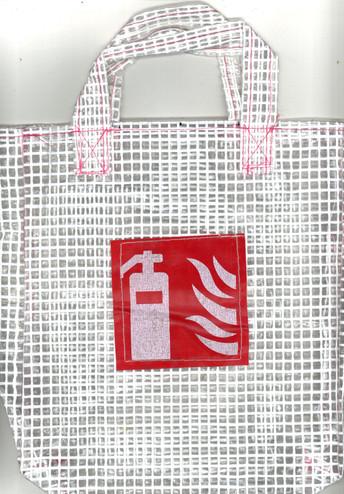 Feuerlöscher-Tasche