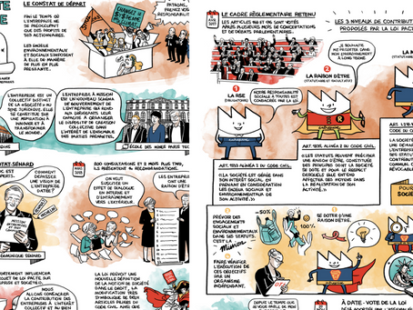 La petite histoire de la loi PACTE en ... BD !