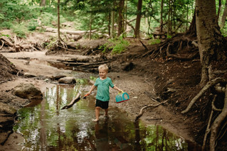 Fun at the Creek - J.Selby Photography   Holland MI Photographer