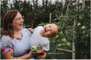 Mother-Son Apple Orchard Trip - J.Selby Photography | Holland MI Photographer