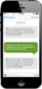 mobile device conversation - chatting on smartphone