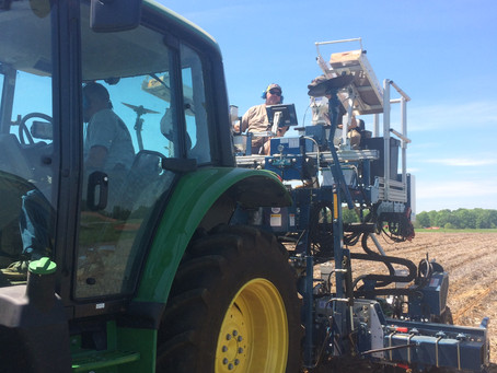 Using tech to increase planting precision and efficiency